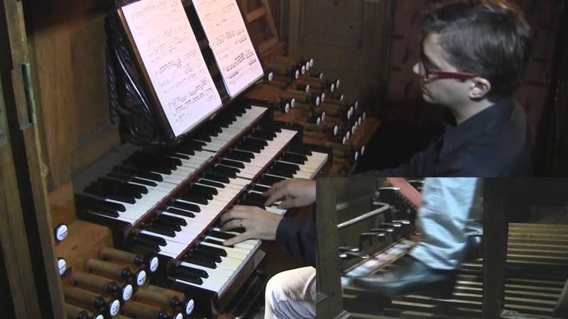 Max Reger : Introduktion, Variationen und Fuge opus 73 (extract) - Jean-Baptiste Dupont, orgue