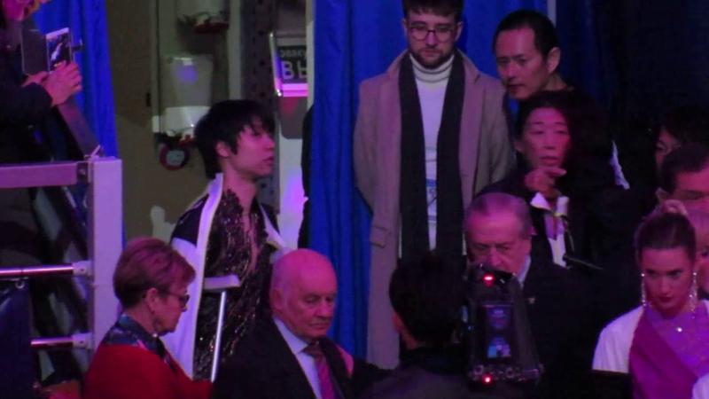 Yuzuru Hanyu 18112018 COR Before Ceremony