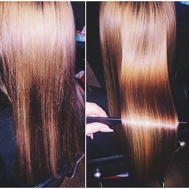 или ботокс волос отзывы фото до и после болезнь демодекоз
