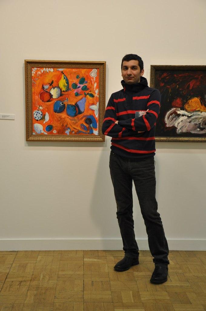Армянский художник Армен Амирагян.