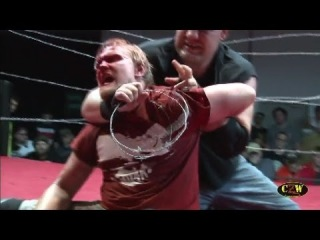 CZW Cage of Death XV: DJ Hyde/The Front vs. Ohio is 4 Killers (Intergender Grudge Match)