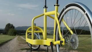Lateral chasis Cargo bike design