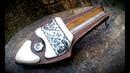 Making jews harp from scrap materials