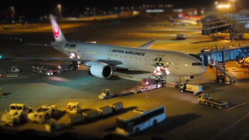 Jal Airlines Tilt Shift