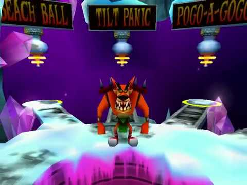 Crash Bash - Gem 6 - Tilt Panic