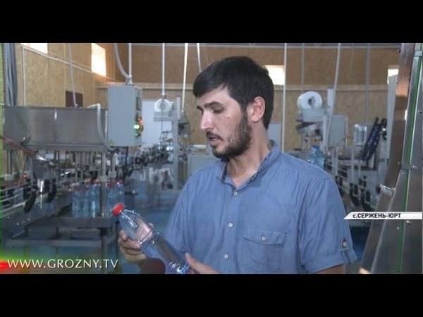 На прилавках магазинов Чечни появится горная вода Сиржа