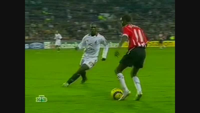 140 CL 2005 2006 PSV Eindhoven AC Milan 1 0 01 11 2005 HL