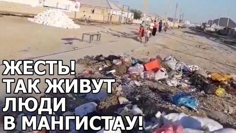 Мангистау утопает в мусоре