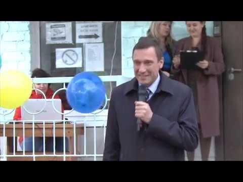 Открытие «Дворика детства» в центре «Лада».