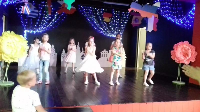 Кидбург день рождения Уристины танцы