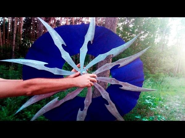 DIY Kitana's War Fans with templates