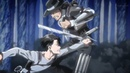 Levi, Mikasa Scouts Vs Kenny Military Police Attack On Titan Season 3 Episode 7 ENG SUB