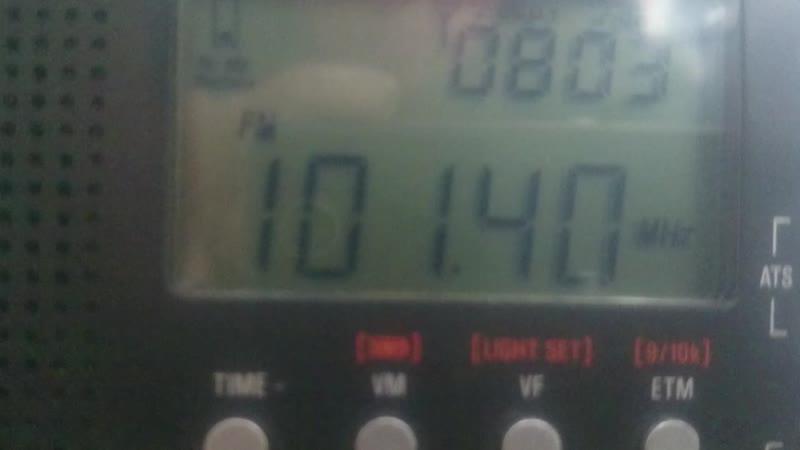 101.4 YLE VEGA(Turku)~430km