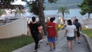 Neum 2018 - Bosnia and Herzegovina. Тунне́ль, парк и пляж Гранд Отеля