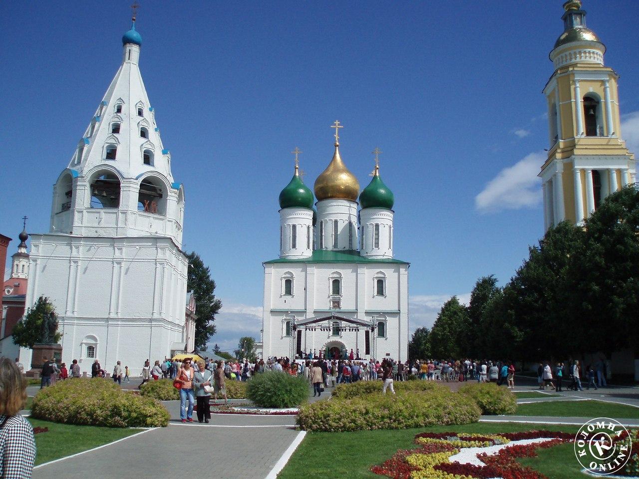 Достопримечательности Коломны: Соборная площадь и Ново-Голутвин монастырь