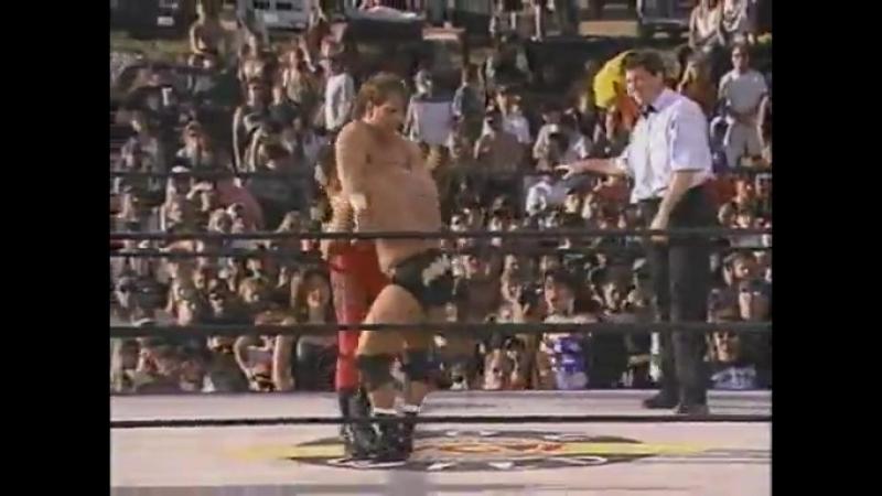 Chris Benoit vs. Dean Malenko (Hog Wild 1996)