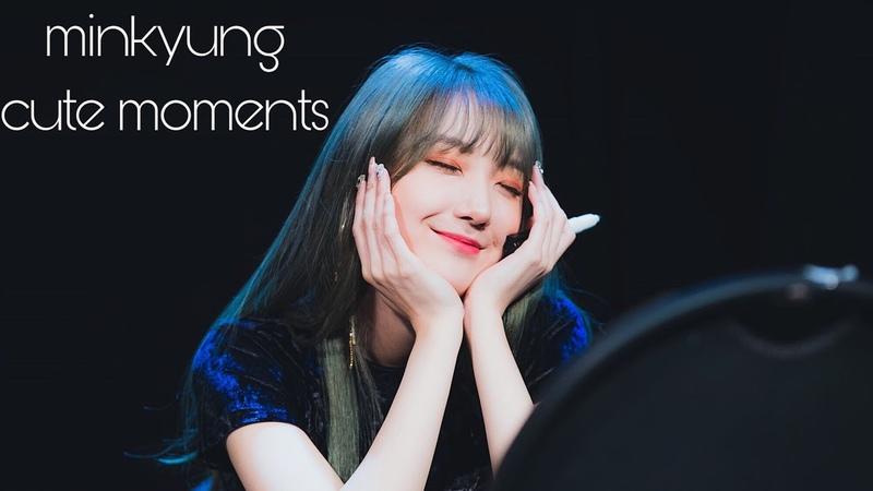Kim minkyung (roa) cute funny moments♡