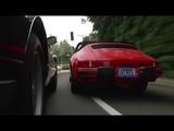 Jeff Bridges (Porsche) vs James Woods (Ferrari) - Against All Odds 1984