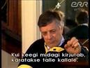 Raimonds Pauls - intervija Igaunijas TV raidījumā TELETUVUS (1987)