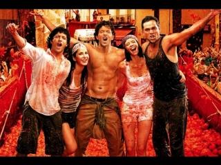Ik Junoon (Paint it red) | Zindagi Na Milegi Dobara | Indian Films | Жизнь не может быть скучной  | RUS SUB