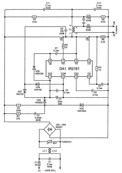 ваз 2106 схема подключения