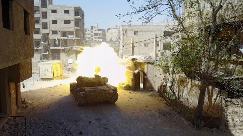 [Syria] Eastern Ghouta. On the outskirts of Kafr Batnа | Восточная Гута. Окраины Кафр Батны