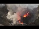 Извержение вулкана Ясур Вануату, 14 июля 2018.