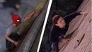 Человек-паук PS4, воссоздал сцену из фильма Человека-паука (2002)