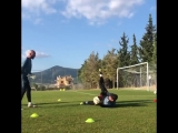 Working hard in the sun! - - @Kepa_46