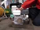 Honda GX-120 (GX120) работа бензинового двигателя