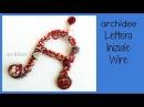 Tutorial tecnica wire   Lettera Iniziale del nome   DIY Wirework Letter