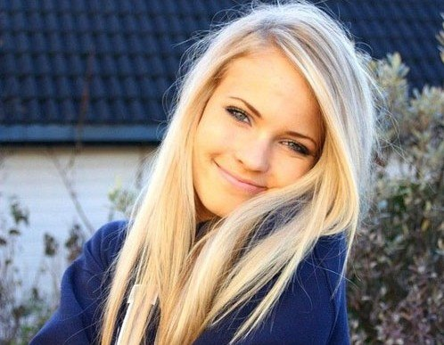 простое фото блондинок