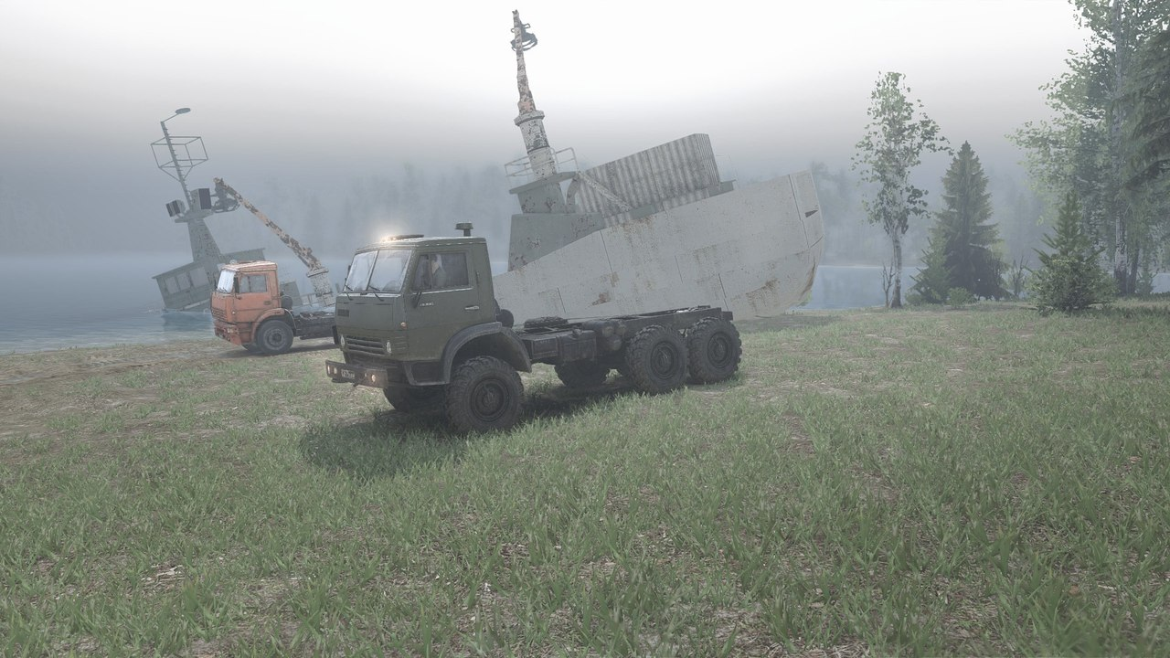 "Карта ""Shipwreck Scramble"" для 25.12.15 для Spintires - Скриншот 1"