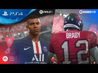 FIFA 21 и Madden 21 | Анонсирующий трейлер | PS5