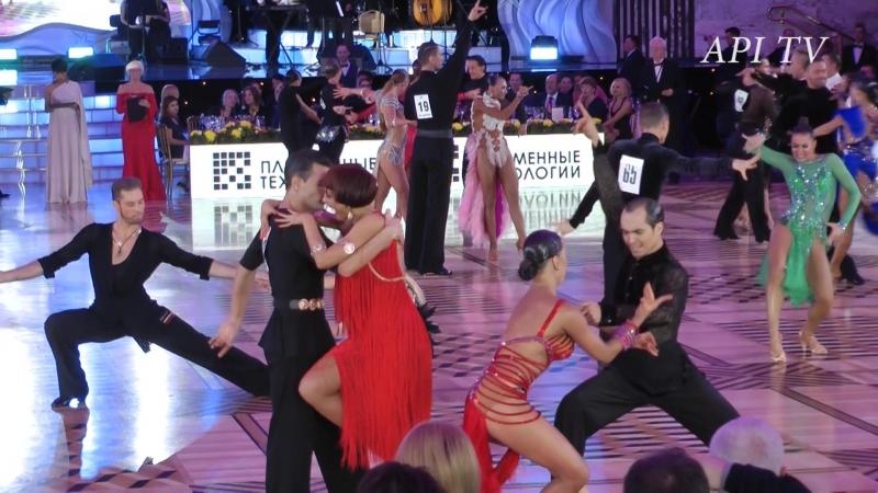 Роман Ковган Дарья Палей Румба API TV DANCE STARS