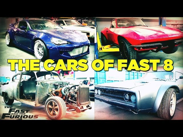 The Cars of Fast Furious 8 FAST8