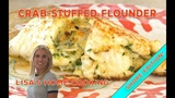 Delicious Crab-Stuffed Flounder - A Special Treat!