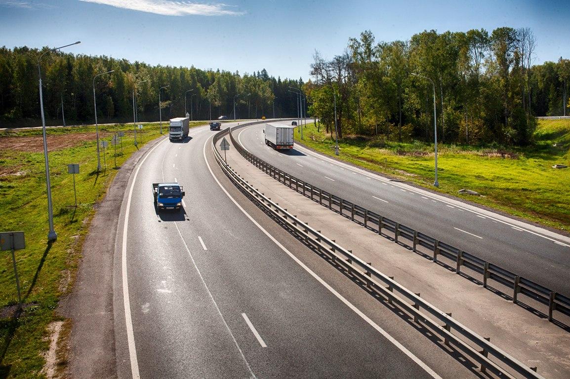 Дорожники закончили ремонт участка дороги «Калуга— Тула»