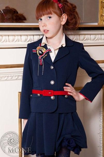 модная школьная форма для девочки