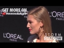 Toni Garrn on the photocall of the L'Oreal Boat in Paris