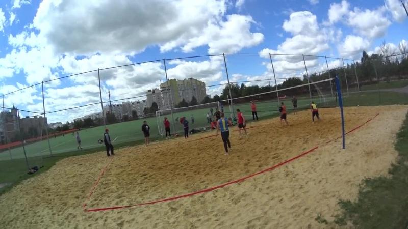 Пляжный волейбол пары по жребию