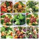 8 рецептов очень полезных и низкокалорийных салатов с брокколи, приготовь на ужин…
