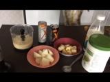 Кокотейль банан+дыня+XS (кока-колавишня-мангомаракуйя)