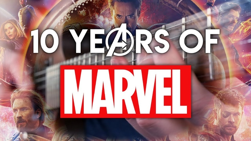 10 Years of the Marvel Cinematic Universe on Guitar