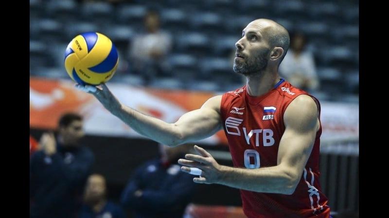 Легеда Российского Волейбола - Сергей Тетюхин!!