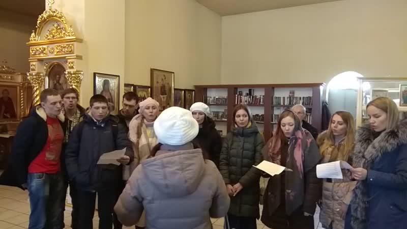 Эта ночь святая, храм Андрея Первозванного, г. Маркс, 20 января 2019г.