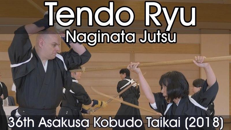 Tendo Ryu Naginata Jutsu 36th Asakusa Kobudo Taikai 2018
