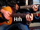 Кипелов - Я свободен Тональность ( Нm )  / Уроки игры на гитаре(Acoustic)