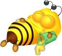 """Предпросмотр схемы вышивки  """"Пчелка """"."""