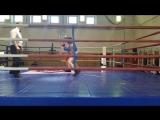 Коробков Богдан (СКА_) на турнире по боксу памяти бойцов Ижорского батальона 27апреля 2018г (четвертьфинал)